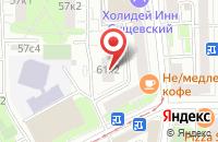 Схема проезда до компании Студия Ат в Москве