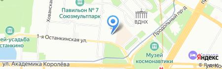 Еврочехол на карте Москвы