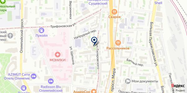 Москва и москвичи на карте Москве