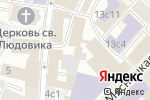 Схема проезда до компании Мята Lounge в Москве