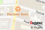 Схема проезда до компании МОСКОВСКИЙ КРЕДИТНЫЙ БАНК в Москве
