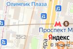 Схема проезда до компании Via Natura в Москве