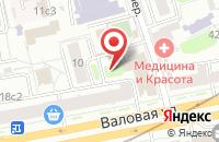 Схема проезда до компании Аламбик А в Москве