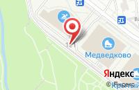 Схема проезда до компании Техноальянс в Москве