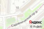 Схема проезда до компании Институт земельных отношений в Москве