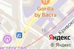 Схема проезда до компании Ленметрогипротранс в Москве