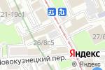 Схема проезда до компании Пурпурный Легион в Москве
