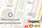 Схема проезда до компании Клеменс в Москве