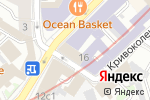Схема проезда до компании Рамен Клаб в Москве