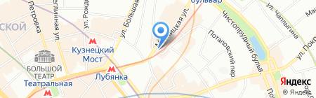 Шпилевой-Шатский и партнеры на карте Москвы