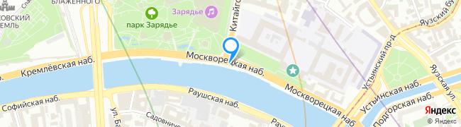 Москворецкая набережная