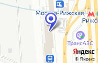 Схема проезда до компании МЕБЕЛЬНЫЙ САЛОН ДОМ КУХНИ в Москве