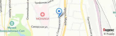 Зебра Холдинг на карте Москвы