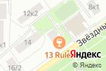 Схема проезда до компании Ирист 2000 в Москве