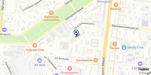 ХЛАДОКОМБИНАТ ОСТ РОСС на карте Москве