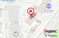 Схема проезда до компании Таганрогстройпроект в Москве