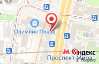 Схема проезда до компании Дольче Вита в Москве