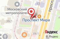 Схема проезда до компании Риома-М в Москве