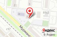 Схема проезда до компании Лугсол в Москве
