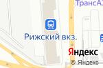 Схема проезда до компании Султан на Рижской в Москве