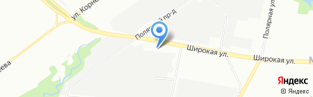 ВЭЛИС-М на карте Москвы