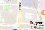 Схема проезда до компании Secret place в Москве