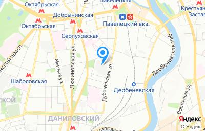 Местоположение на карте пункта техосмотра по адресу г Москва, пер Партийный, д 1 к 58 стр 1