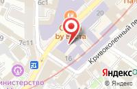 Схема проезда до компании Региональное Партнерство в Москве