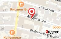 Схема проезда до компании Аудиовидеософт-Трейд в Москве