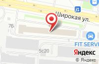 Схема проезда до компании Оксис в Москве
