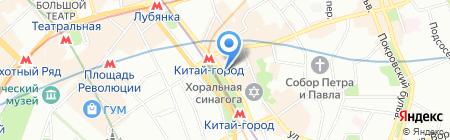 ЛС Тревел на карте Москвы