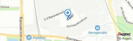 Гелиос М-групп на карте Москвы