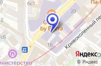 Схема проезда до компании ИНЖЕНЕРНО-ИНФОРМАЦИОННЫЙ ЦЕНТР ХИМИЯ-МОСКВЕ в Москве