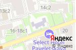 Схема проезда до компании Средняя общеобразовательная школа №1060 с дошкольным отделением в Москве