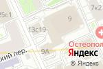 Схема проезда до компании Сименс Финанс в Москве