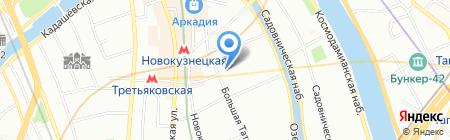 Легион на карте Москвы