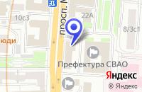 Схема проезда до компании КБ БАНК КОРПОРАЦИИ РЕЗЕРВНЫХ ФОНДОВ в Москве