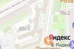 Схема проезда до компании Планы эвакуации в Москве