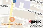 Схема проезда до компании Красивая жизнь в Москве