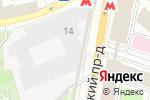 Схема проезда до компании Pascucci в Москве