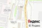 Схема проезда до компании Нью Креатив в Москве