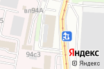 Схема проезда до компании Entwicklungs Und Verwertungs Gesellschaft в Москве