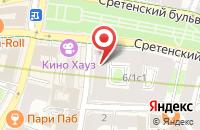 Схема проезда до компании Лазурит в Москве