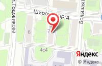 Схема проезда до компании Юнитекс в Москве
