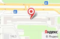 Схема проезда до компании Приор Продакшн в Москве