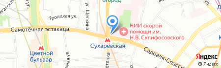 Статус на карте Москвы