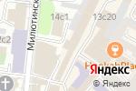 Схема проезда до компании ЭкоБау в Москве