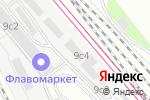 Схема проезда до компании ONE MILLION FLOWERS в Москве