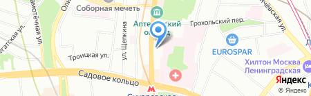 Халимон и Партнеры на карте Москвы
