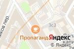 Схема проезда до компании Союзная Газета в Москве